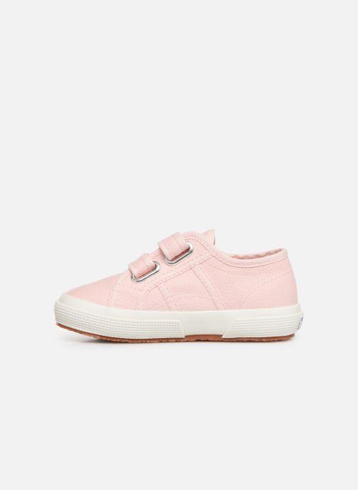 Sneakers Superga 2750 J Velcro E C2 Roze voorkant