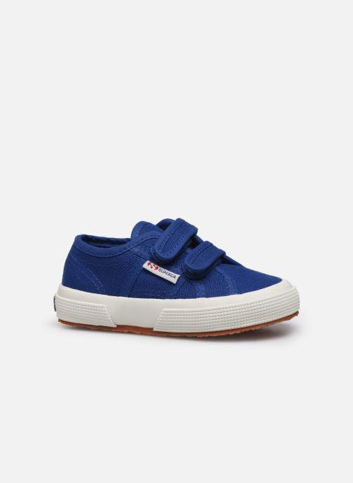 Sneakers Superga 2750 J Velcro E C2 Blauw achterkant