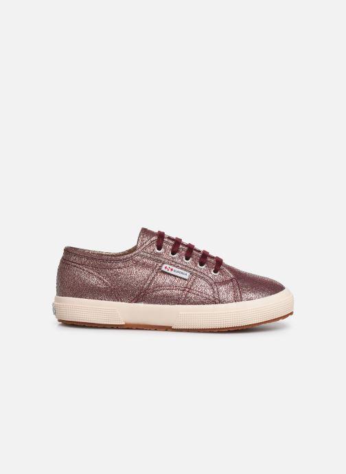 Sneakers Superga 2750-LAMEJ E Bordeaux achterkant