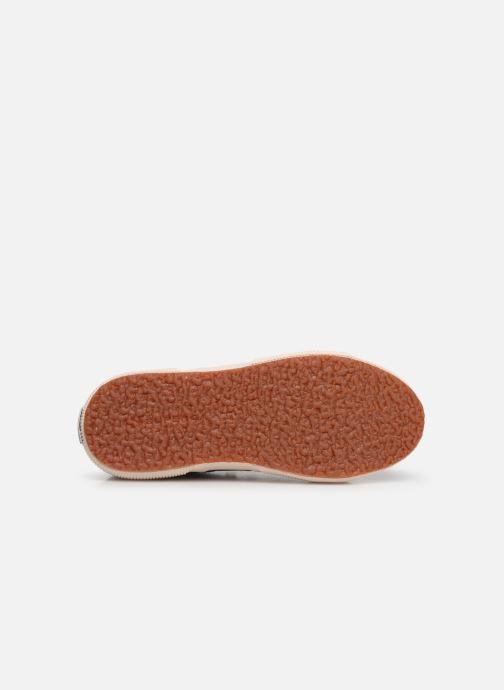 Sneaker Superga 2750-LAMEJ E weinrot ansicht von oben
