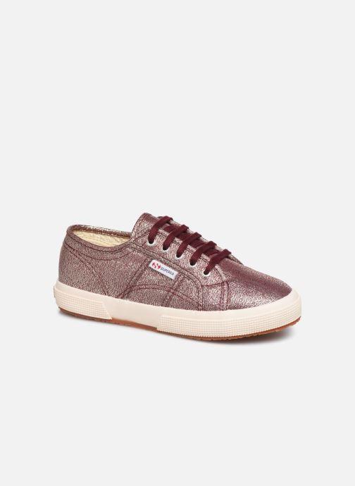 Sneakers Superga 2750-LAMEJ E Bordeaux detail