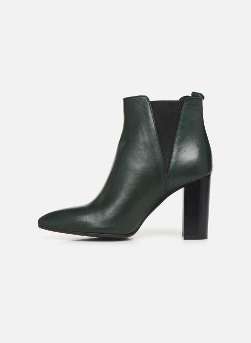 Bottines et boots Georgia Rose Labuan Vert vue face