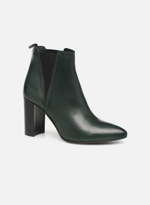 Bottines et boots Georgia Rose Labuan Vert vue détail/paire