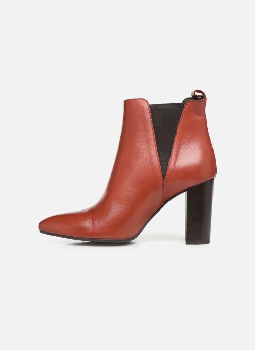 Bottines et boots Georgia Rose Labuan Rouge vue face