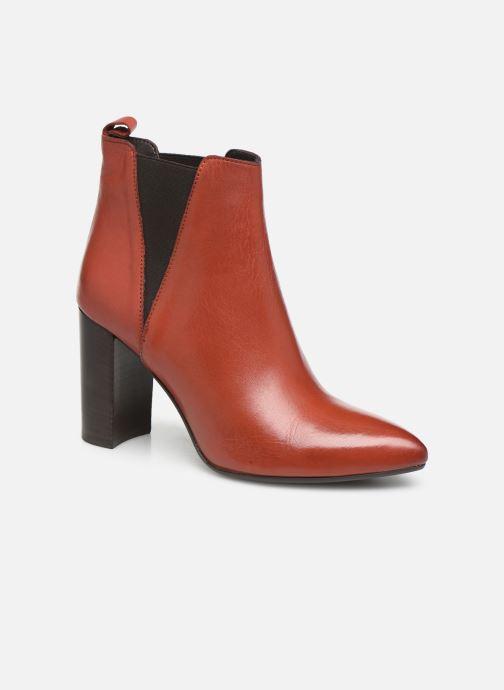 Bottines et boots Georgia Rose Labuan Rouge vue détail/paire
