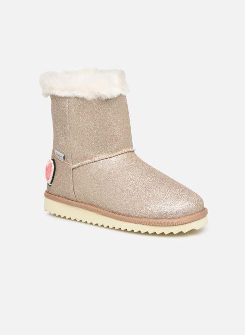 Bottes Pepe jeans Angel Glitter Or et bronze vue détail/paire