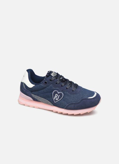 Baskets Pepe jeans Belle Denim Bleu vue détail/paire