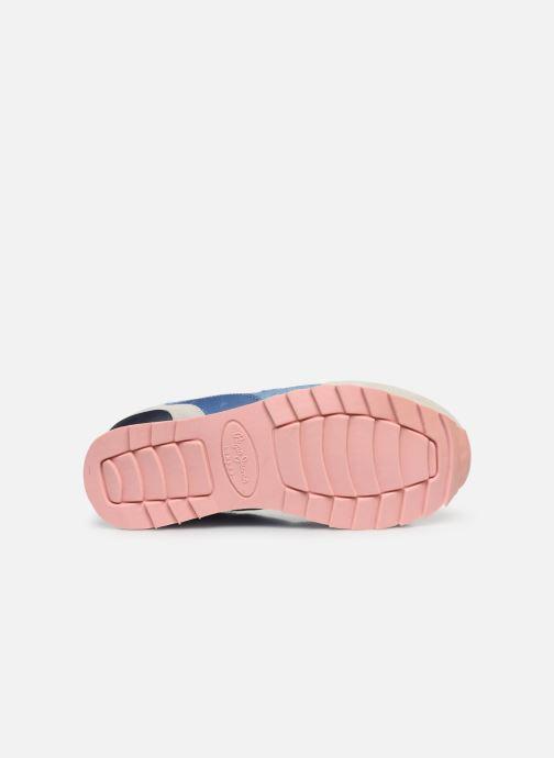 Baskets Pepe jeans Belle Denim Bleu vue haut