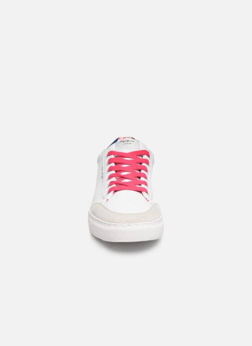 Trainers Pepe jeans Adams Basix Junior White model view
