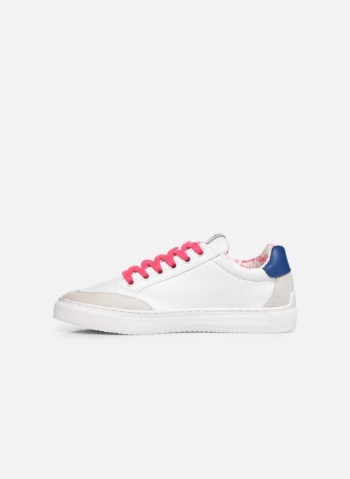 Sneakers Pepe jeans Adams Basix Junior Bianco immagine frontale