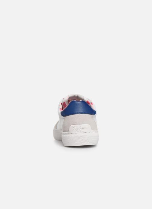 Sneakers Pepe jeans Adams Basix Junior Bianco immagine destra