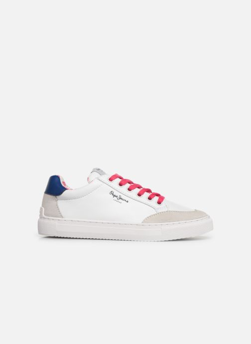Baskets Pepe jeans Adams Basix Junior Blanc vue derrière