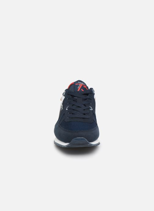 Baskets Pepe jeans Sidney Basix Bleu vue portées chaussures