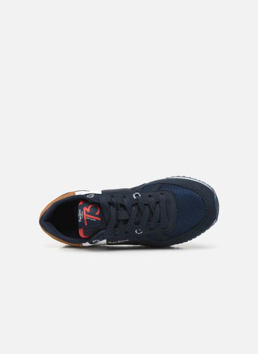 Sneakers Pepe jeans Sidney Basix Blauw links