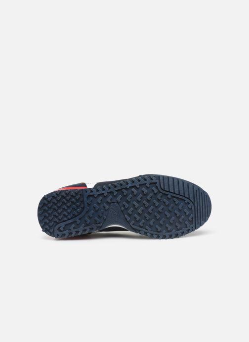 Baskets Pepe jeans Sidney Basix Bleu vue haut