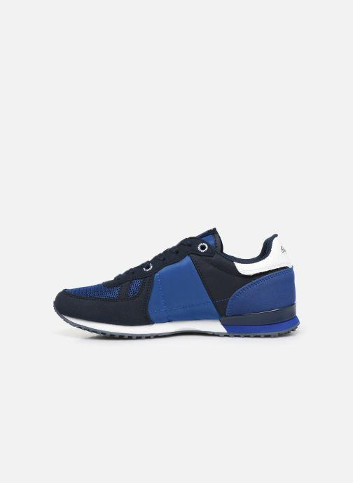 Sneakers Pepe jeans Sidney Basic Blauw voorkant