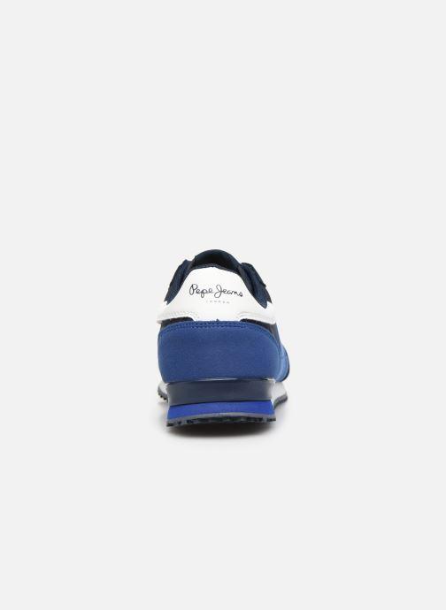 Baskets Pepe jeans Sidney Basic Bleu vue droite