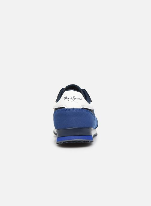 Sneakers Pepe jeans Sidney Basic Blauw rechts