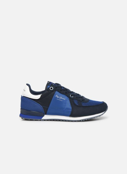 Sneakers Pepe jeans Sidney Basic Blauw achterkant