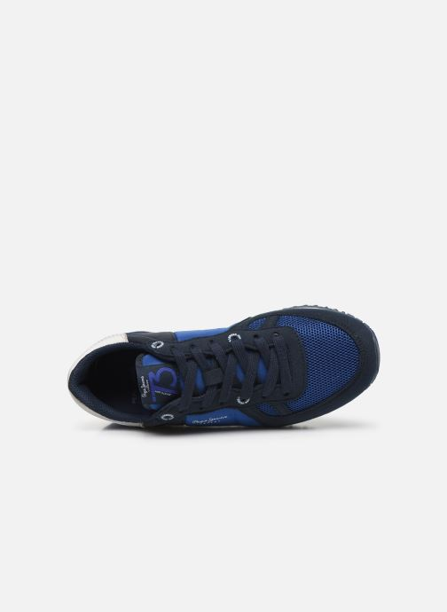 Baskets Pepe jeans Sidney Basic Bleu vue gauche