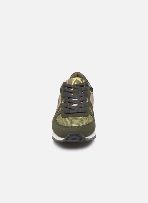Baskets Pepe jeans Sidney Basic Vert vue portées chaussures