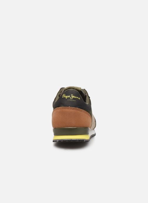 Trainers Pepe jeans Sidney Basic Green view from the right