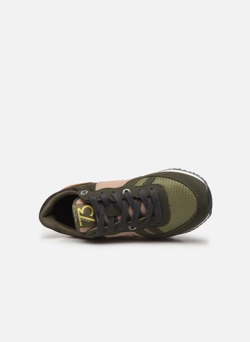 Trainers Pepe jeans Sidney Basic Green view from the left