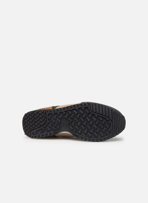 Baskets Pepe jeans Sidney Basic Vert vue haut