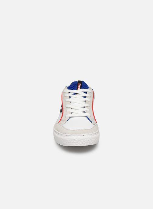 Baskets Pepe jeans Adams P Junio Blanc vue portées chaussures