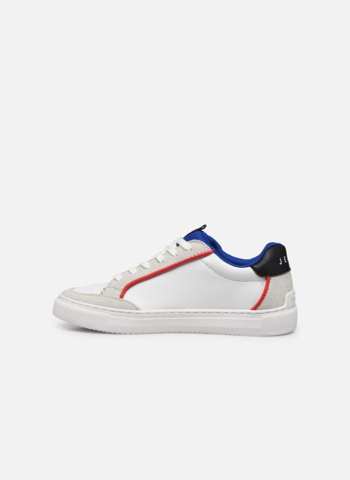 Baskets Pepe jeans Adams P Junio Blanc vue face