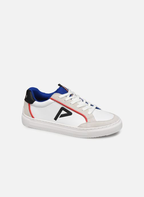 Baskets Pepe jeans Adams P Junio Blanc vue détail/paire