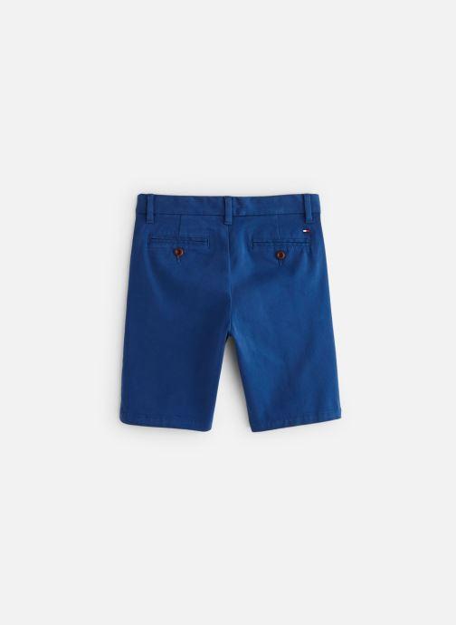 Vêtements Tommy Hilfiger Msw Denton Short Bleu vue bas / vue portée sac
