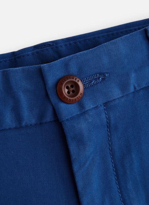 Vêtements Tommy Hilfiger Msw Denton Short Bleu vue portées chaussures