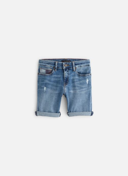 Vêtements Tommy Hilfiger Steve Slim Tapered Shorts Bleu vue détail/paire