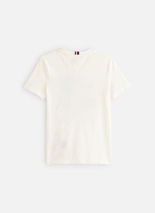 Vêtements Tommy Hilfiger Msw Laguna Beach Graphic Tee Blanc vue bas / vue portée sac