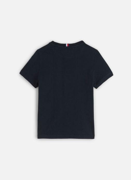 Vêtements Tommy Hilfiger Msw Laguna Beach Graphic Tee Bleu vue bas / vue portée sac