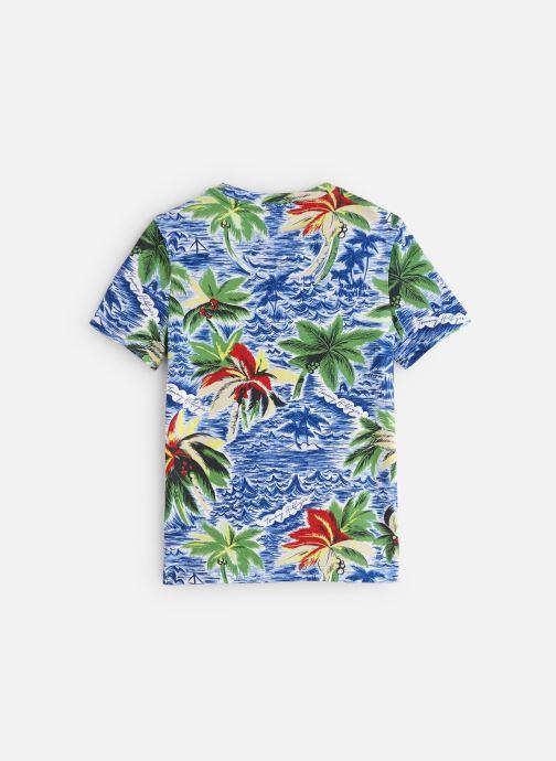 Vêtements Tommy Hilfiger Aop Hawaiian Tee Bleu vue bas / vue portée sac