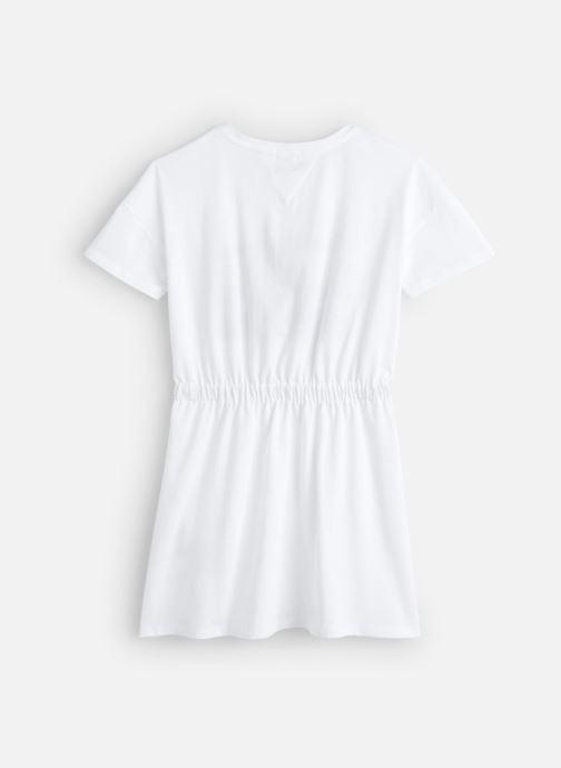 Kleding Tommy Hilfiger Summer Knit Dress Wit onder
