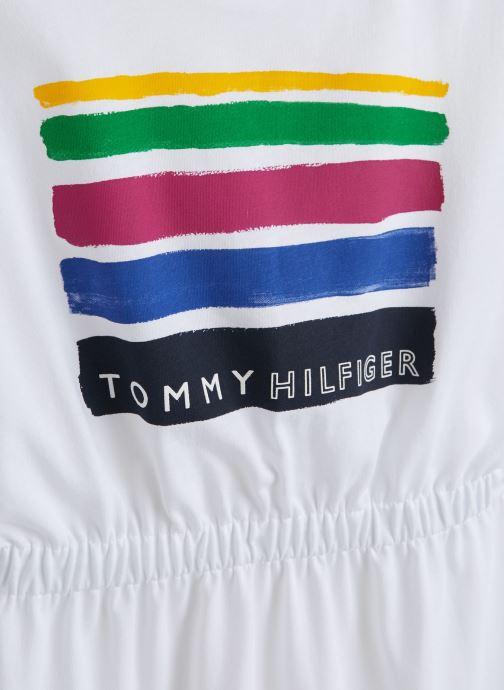 Kleding Tommy Hilfiger Summer Knit Dress Wit model