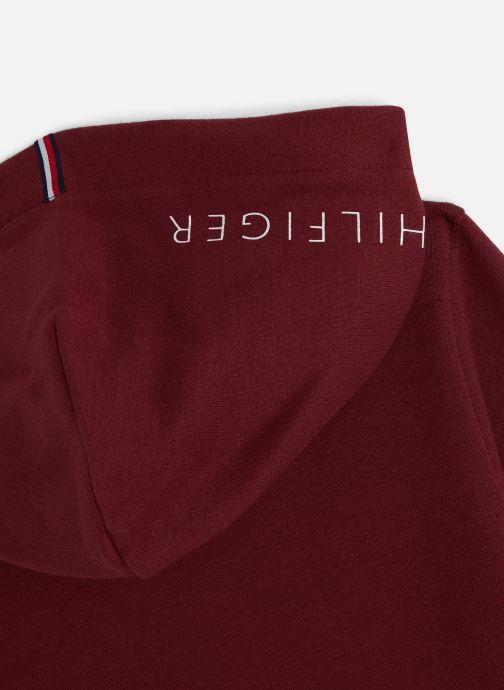 Vêtements Tommy Hilfiger Essential Hoodie Set 1 Bordeaux vue portées chaussures
