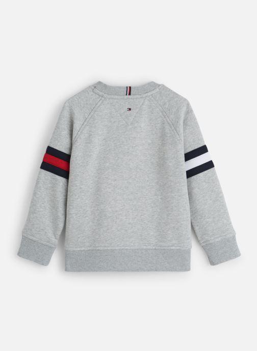 Vêtements Tommy Hilfiger Essential Flag Crew Gris vue bas / vue portée sac