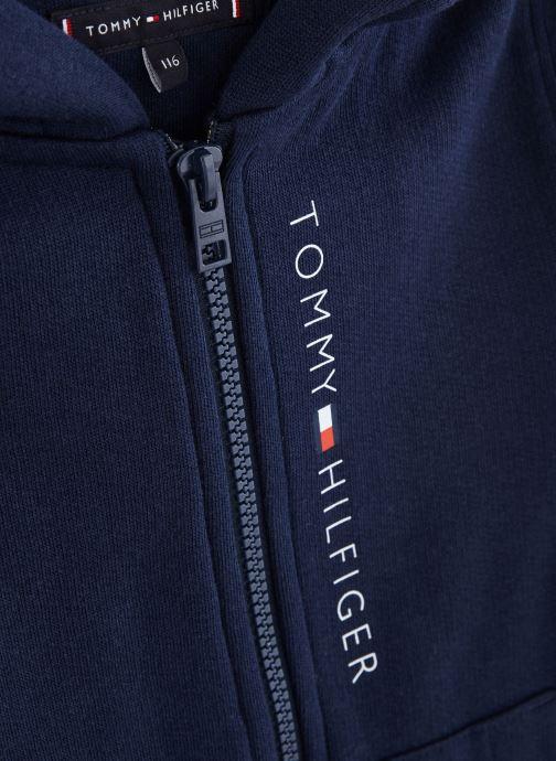 Vêtements Tommy Hilfiger Essential Full Zip Hoodie Set 1 Bleu vue portées chaussures