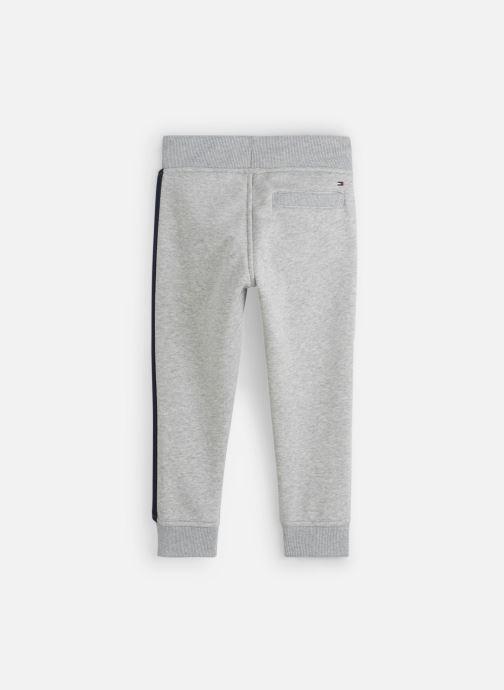 Vêtements Tommy Hilfiger Essential Flag Pants Gris vue bas / vue portée sac