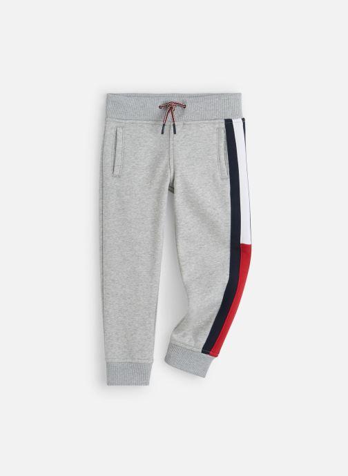Vêtements Tommy Hilfiger Essential Flag Pants Gris vue détail/paire