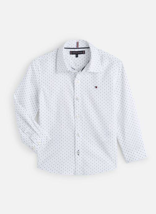 Kleding Tommy Hilfiger Mini Print Shirt Wit detail