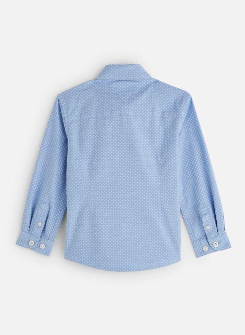 Vêtements Tommy Hilfiger Mini Print Shirt Bleu vue bas / vue portée sac