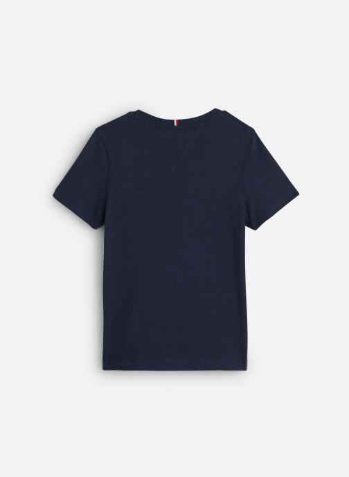 Vêtements Tommy Hilfiger Logo Tee Bleu vue bas / vue portée sac