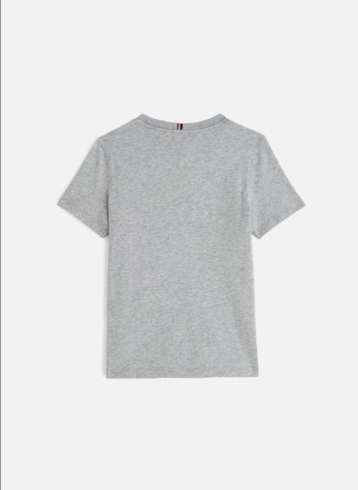 Vêtements Tommy Hilfiger Puff Print Tee Gris vue bas / vue portée sac
