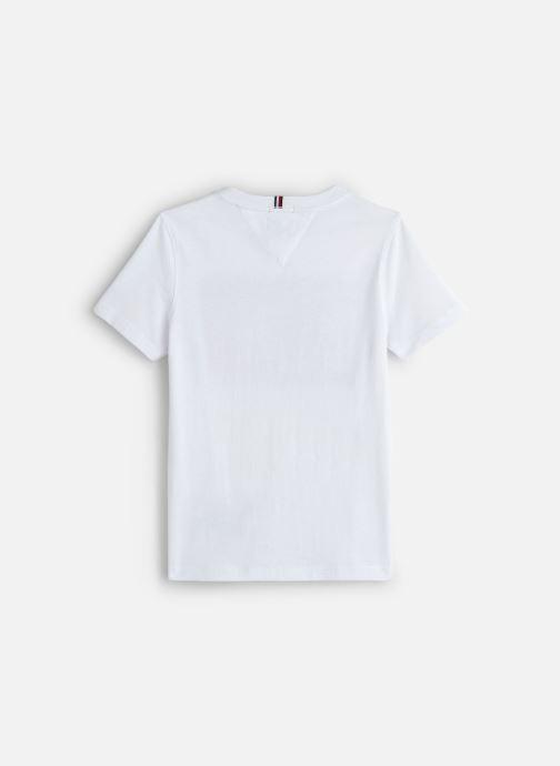 Vêtements Tommy Hilfiger Puff Print Tee Blanc vue bas / vue portée sac