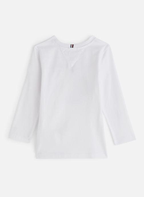 Vêtements Tommy Hilfiger FLAGS GRAPHIC TEE Blanc vue bas / vue portée sac